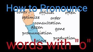 How to Pronounce O in English