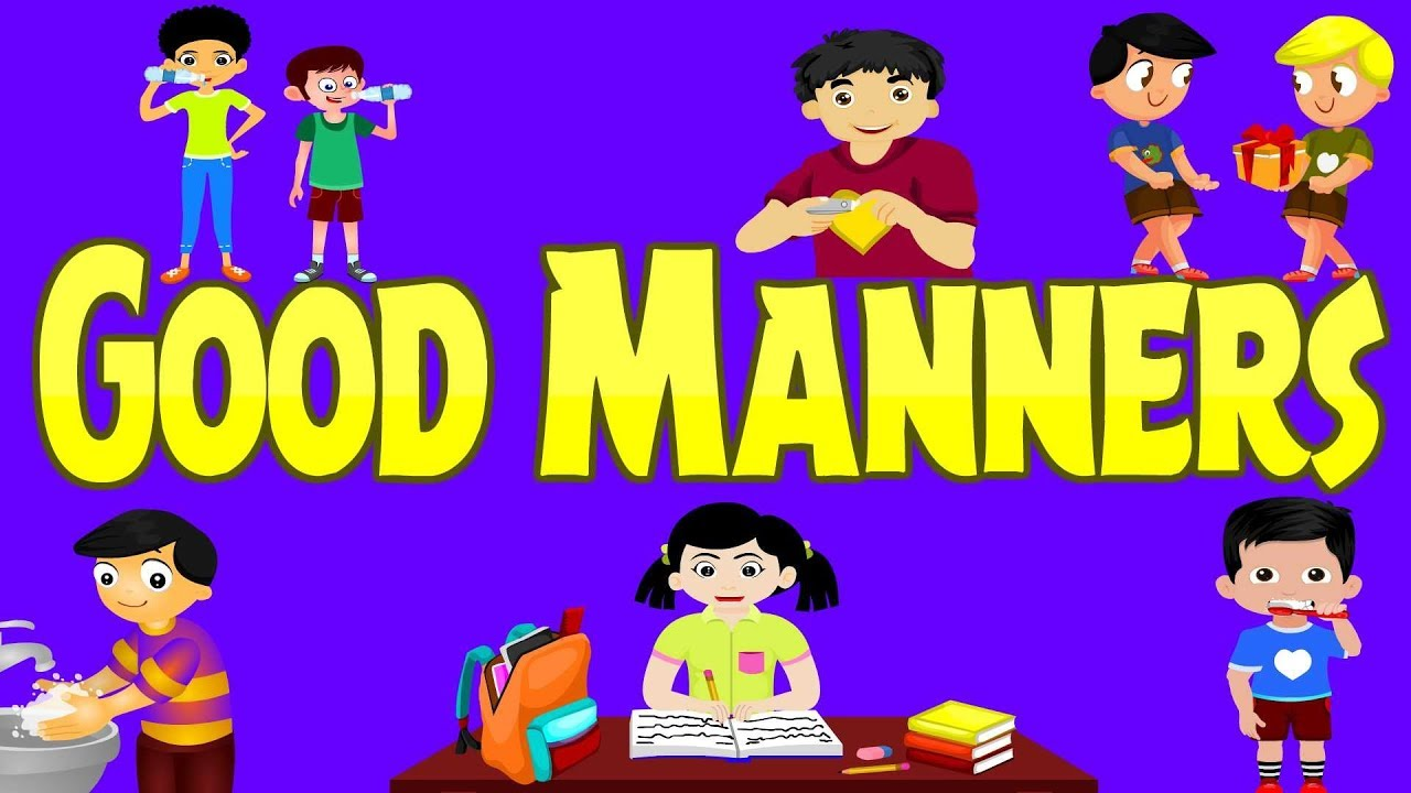 examples of good manners
