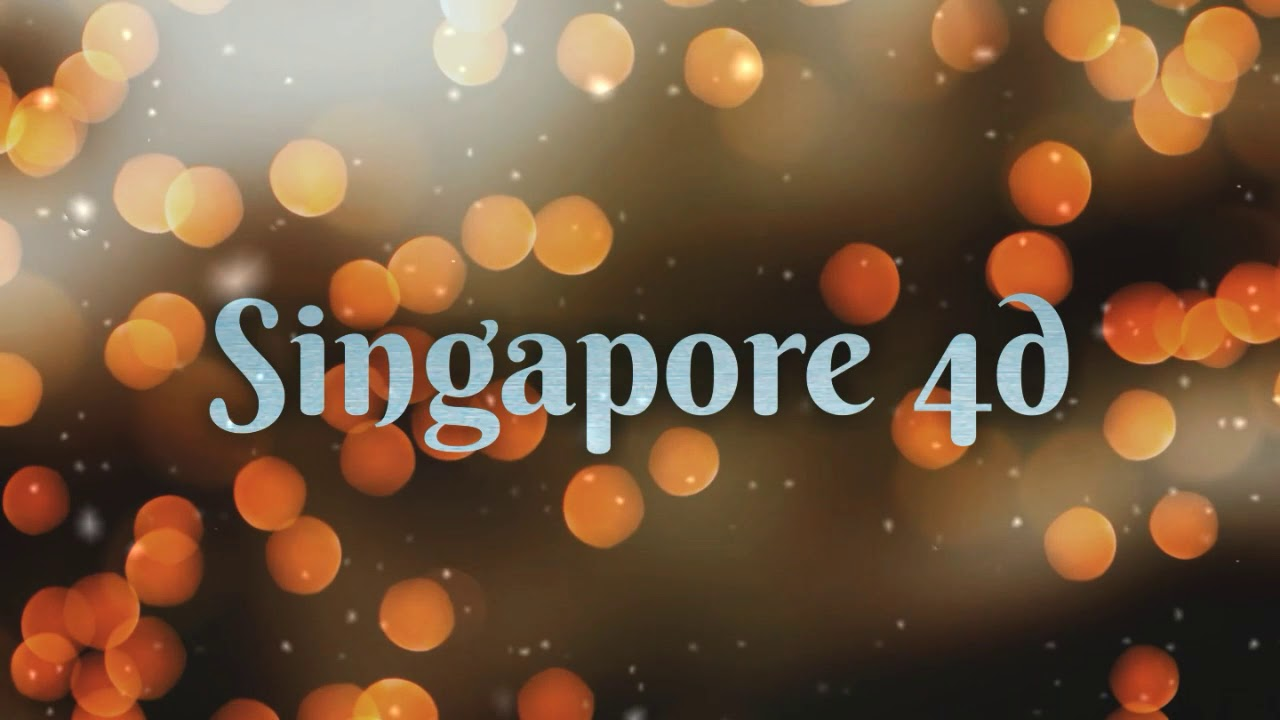 31 08 2019 Free Singapore 4d Prediction And Lucky Numbers For My  Subscribers