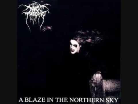 Darkthrone- A Blaze In The Northern Sky (Lyrics)