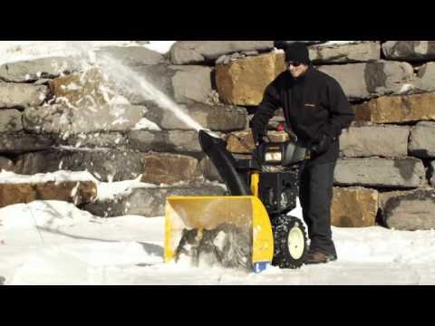 Официальное видео-демонстрация снегоуборщиков Cub Cadet