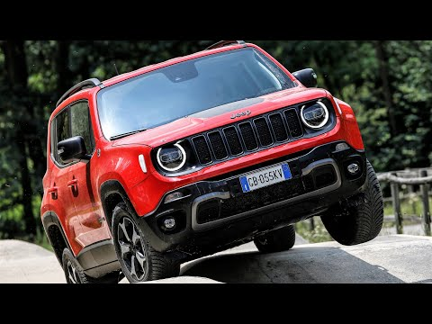 2020 Jeep Renegade 4xe Trailhawk Rugged Pug In Hybrid Suv Youtube
