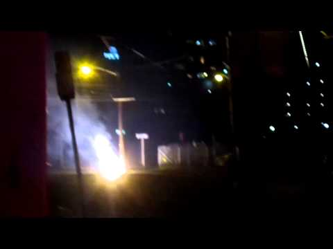 Warren St., Jersey City: Post-Hurricane Sandy Live Wire