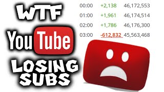 WTF?!! YOUTUBE IS DELETING SUBS!