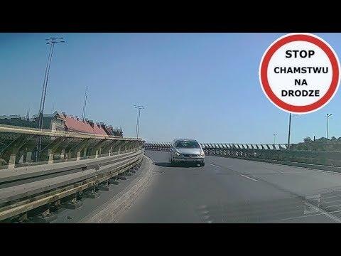 Czołówka na wiadukcie w Gdańsku - kobieta jechała pod prąd #96 Wasze Filmy