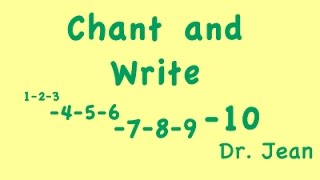 Chant and Write with Dr. Jean