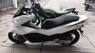 2015 / 2016 / 2017 / 2018 Honda PCX 150 Review and Highway Test