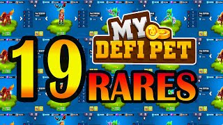 19 RARE PET REVEAL  | Play to Earn | Tagalog | MYDEFI Pet | BSC