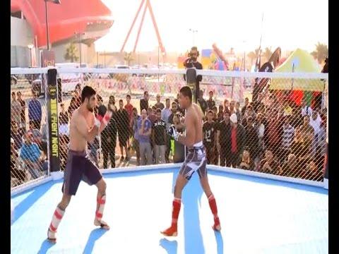 Abbas Khan vs Abdulla Alhajri.  KHK Fight Night.