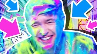 I GOT SLIMED ON LIVE TV...