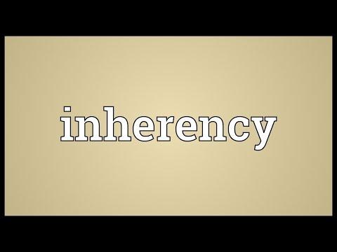 Header of inherency