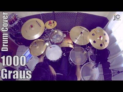 1000 Graus   Renascer Praise   JC Batera (Drum Cover)
