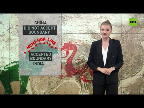China-India border dispute dates back to the British Empire era