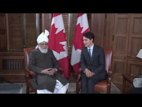 Caliph Visits Parliament Hill - News Report