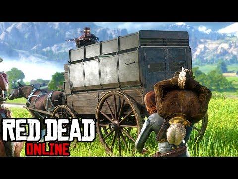 Red Dead Online Frontier Pursuits Update! Bounty Hunting Wagon & Tier 3 Bounties!