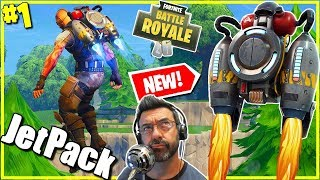 NEW Jet Pack Fortnite / ShutUpDad