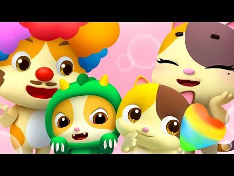 かわいいミミの家族   赤ちゃんが喜ぶ歌 子供の歌 童謡 アニメ 動画 ベビーバス BabyBus