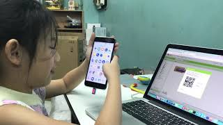 Teach Daughter to Use App Inventor - Android Programming