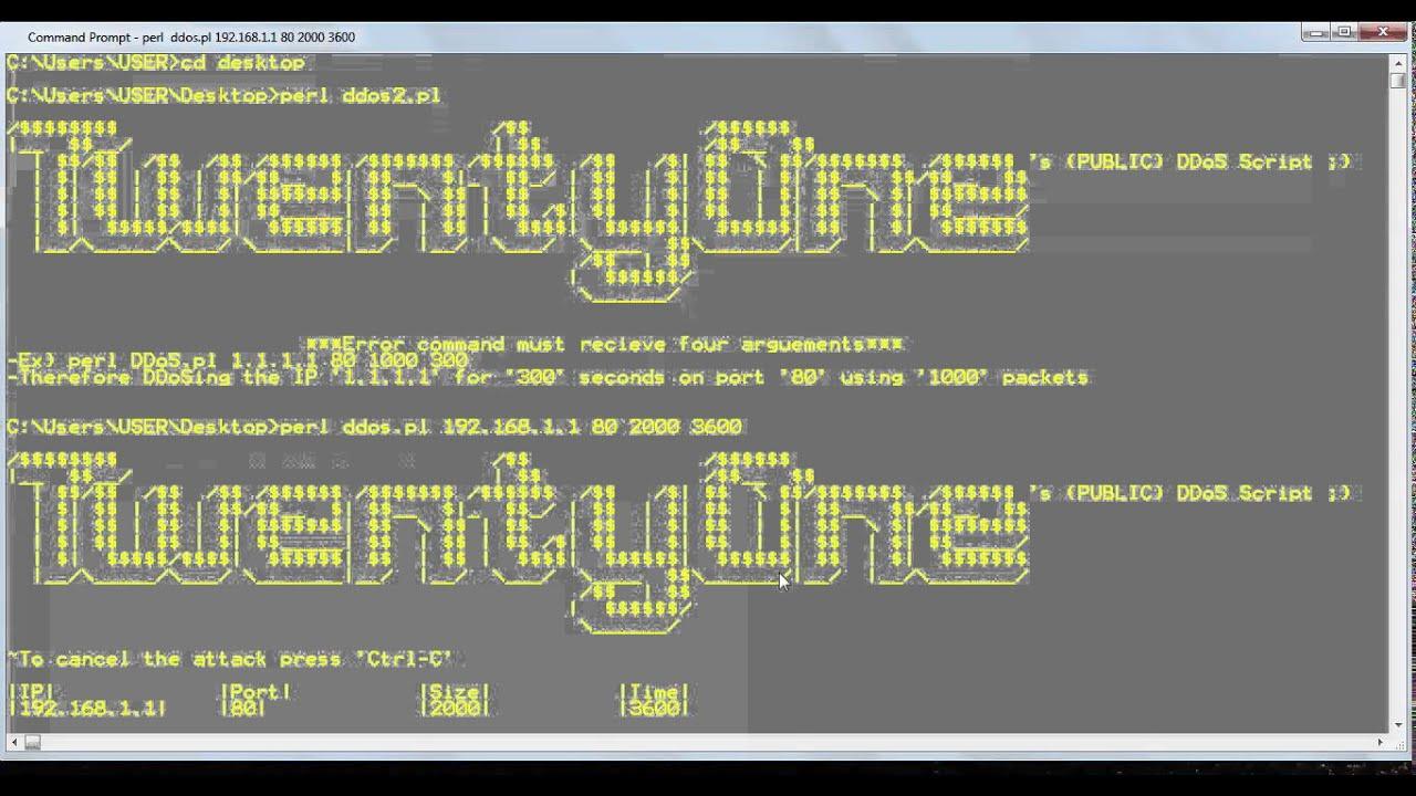 [Perl] - DDoS Script ~TwentyOne