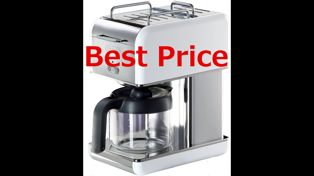 Buy the DeLonghi Kmix 10 Cup Drip Coffee Maker NOW - YouTube