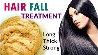 DOUBLE Hair growth, Grow Long Hair and Stop Hair Fall | 5-Minute Treatment