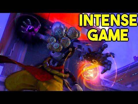 INTENSE Zenyatta Game! Clutch Plays All Around! Zenyatta Competitive Tips and Tricks