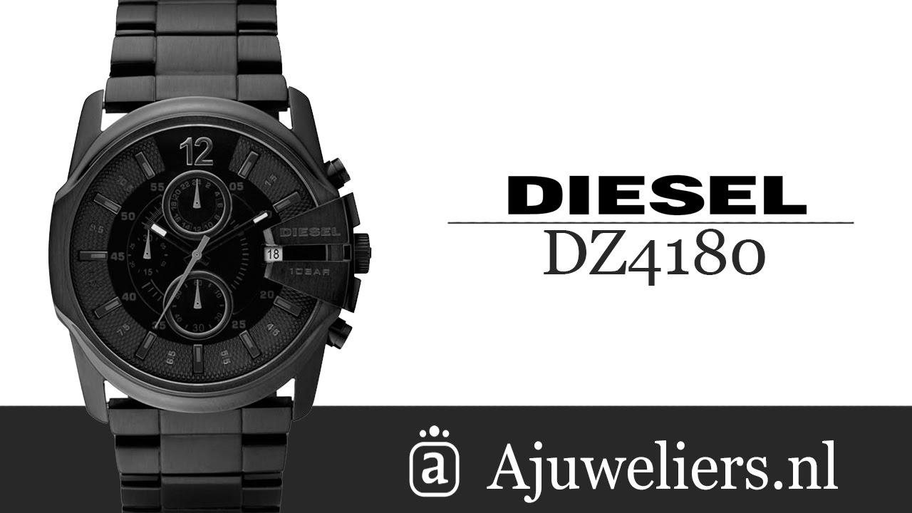 497f7c121edb Diesel DZ4180    Diesel horloge    Online bij Ajuweliers.nl - YouTube