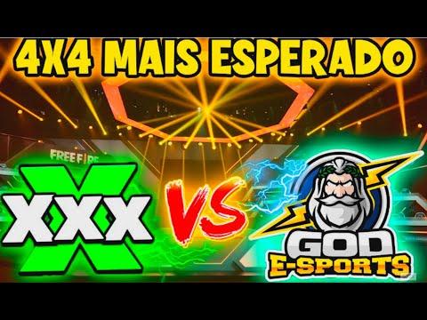 GOD ELITE VS EQUIPE X - 4X4 MAIS ESPERADO - CONTRA SQUAD FREE FIRE - CLIPS FF - BAK - THUR - ELTON