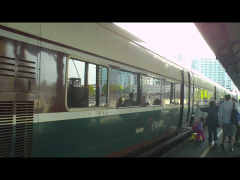 Round trip from Albany to Portland, Oregon by Amtrak Cascade