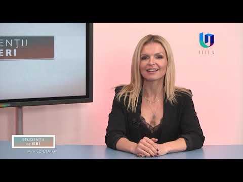 TeleU: Teo Pop la emisiunea Studenții de ieri cu Silvia Gherasim