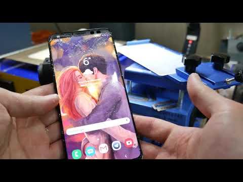 GALAXY S9+ / Замена стекла. Без холодильника / Galaxy S9+ Glass Replacement