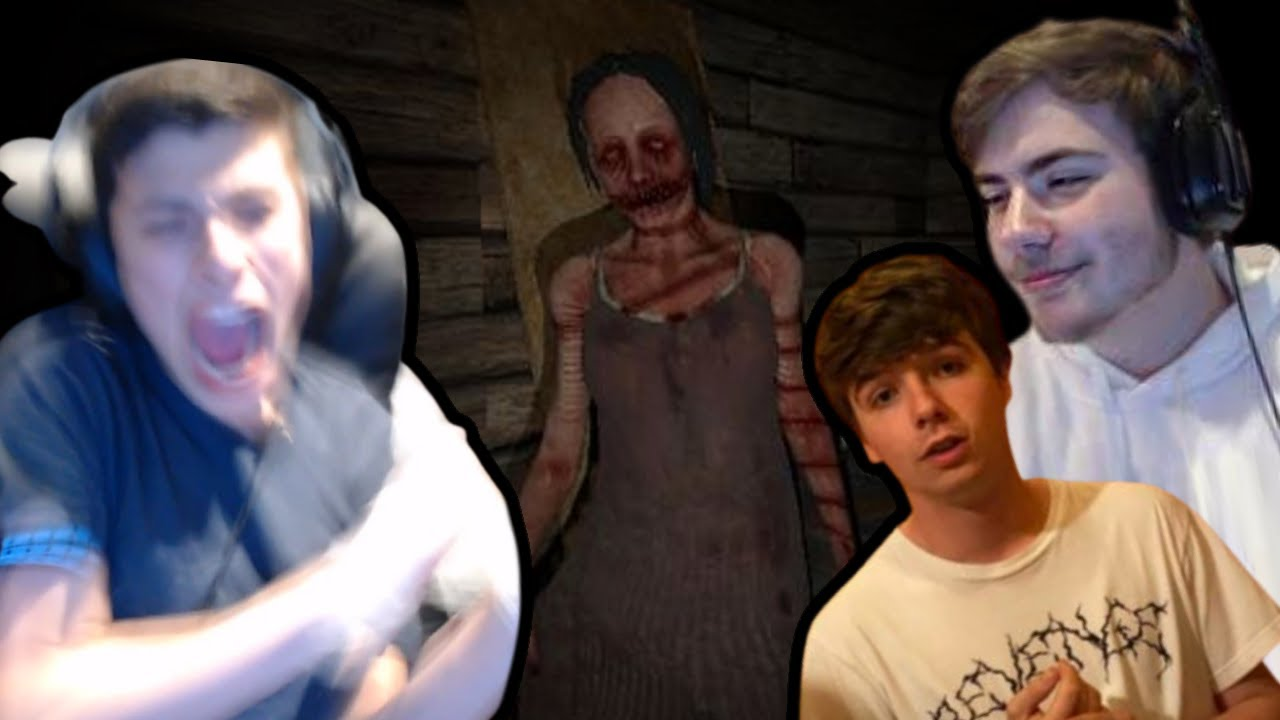 George, Sapnap, Karl, and Punz play a HORROR GAME