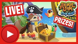 Pirate Foxes?! Live Stream |  Animal Jam & Play Wild Live Stream