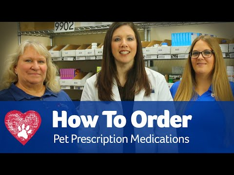 How To Order Your Pet Medicine
