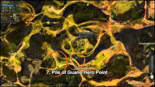 GW2 Verdant Brink Hero Points Guide (Revised)