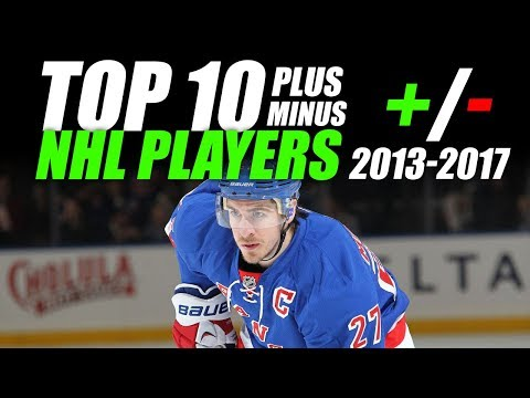 Top 10 Best +/- NHL Players (2013-2017)