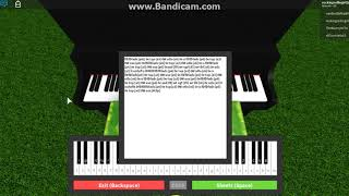 How to play Fur Elsie On Piano In Roblox!