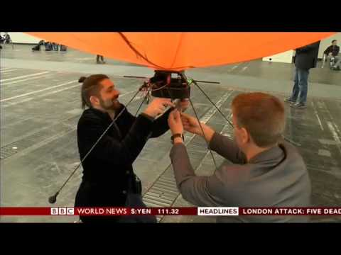 BBC World News / 23.03.2017 / Hybrid-Airplane Technologies GmbH