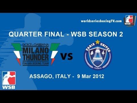 Milan vs Paris - Quarter Final WSB Season 2