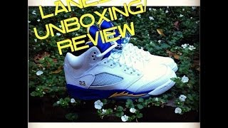 Air Jordan Laney 5 unboxing/review Thumbnail