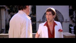 "Scarface ""All I have in this world is my balls and my word"""