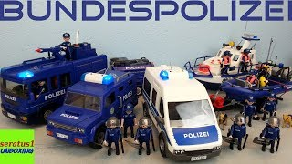Playmobil Bundespolizei komplett alle Sets seratus1 unboxing