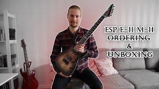 ESP E-II M-II-7 UNBOXING