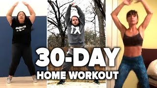 We Worked Out At Home For 30 Days