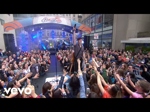 Shawn Mendes - Theres Nothing Holdin † Me Back (Live On The Today Show)