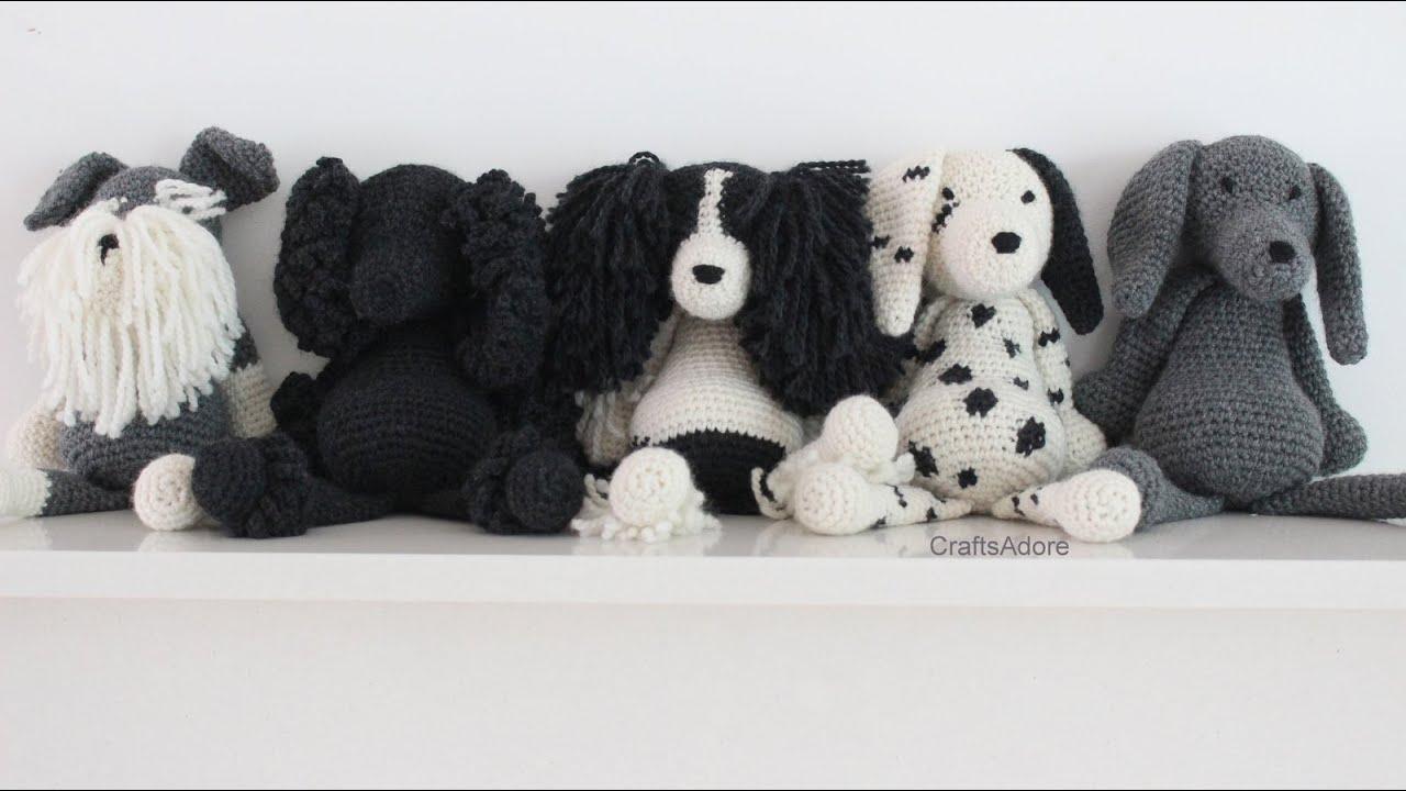 CraftsAdore's TOFT Ed's Dogs Bundle Crocheting Vlog #4