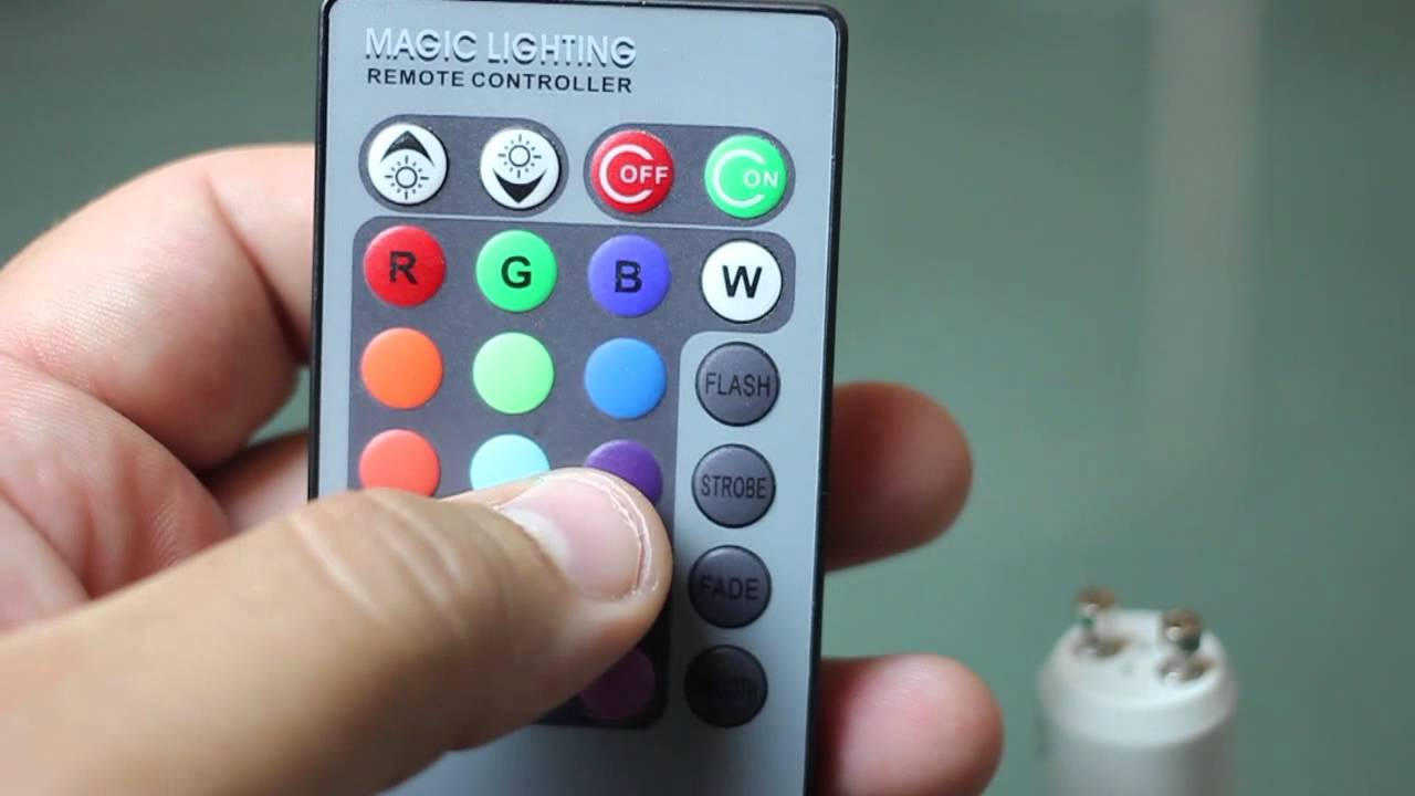 Led Colour Changing Light With Remote Youtube