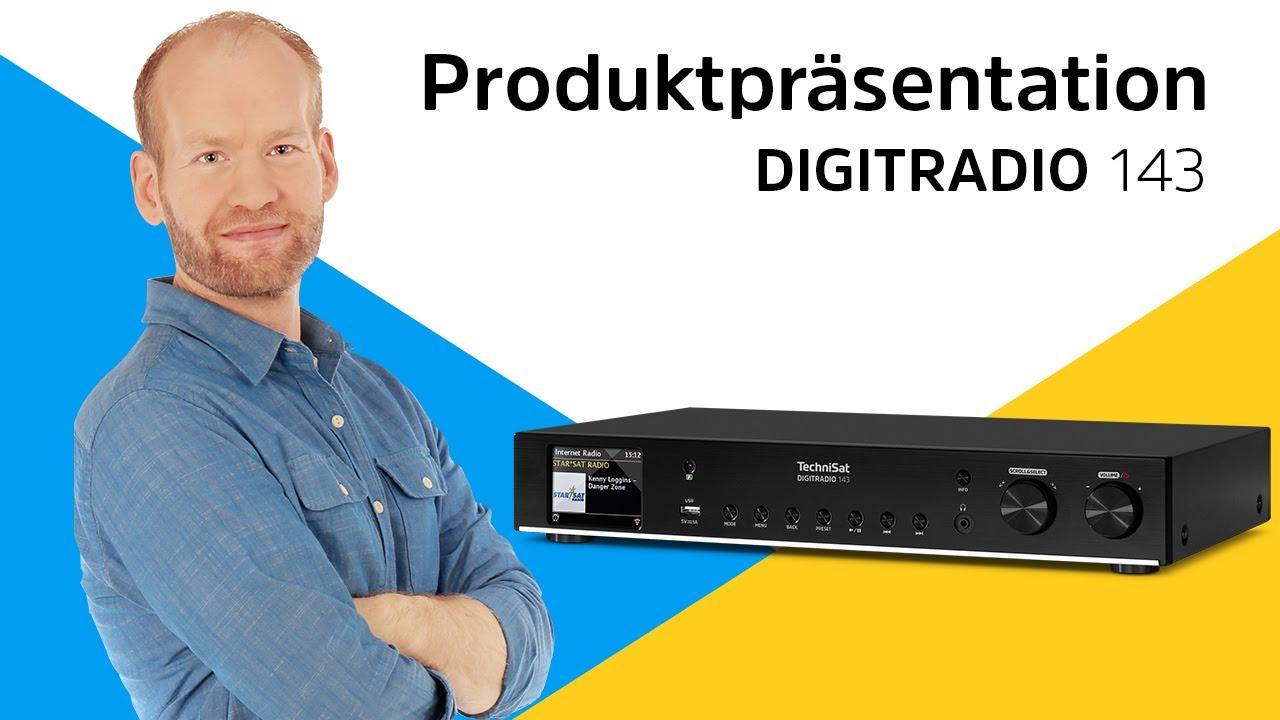 Video: DIGITRADIO 143 | Hi-Fi-Komponente für den Empfang von DAB+, mit Streamingfunktionen | TechniSat