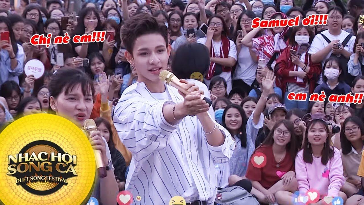 Hãy nhảy cùng Sam - Busking tại phố đi bộ Nguyễn Huệ | Kim Samuel in Vietnam