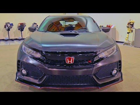 Honda Civic Type R (2017) Features, Design, Exhaust Sound [YOUCAR]